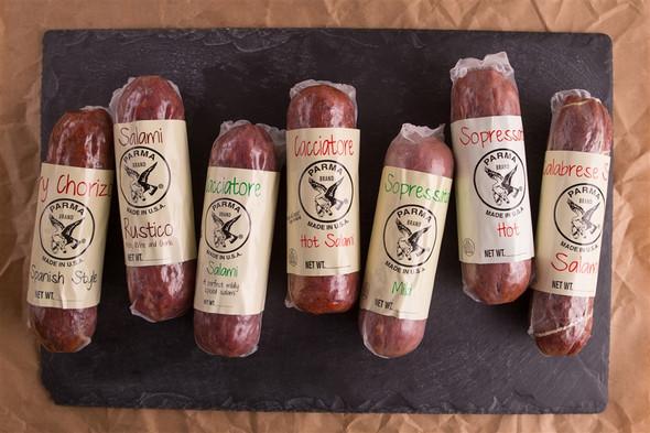 Cacciatore Hot Salami Parma (approx. 8oz)