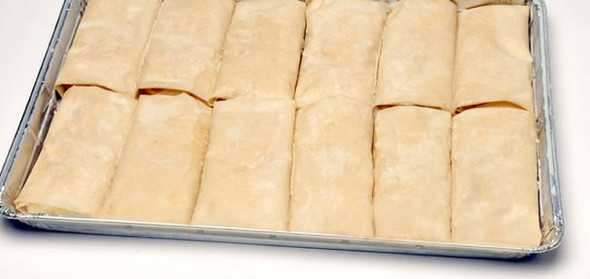 Spinach Pie/Spanakopita Tray 12pcs/6oz Kontos (72oz)