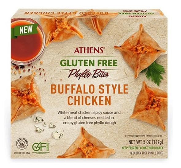 Buffalo Style Chicken Gluten Free Phyllo Bites 12pcs Athens (5oz)