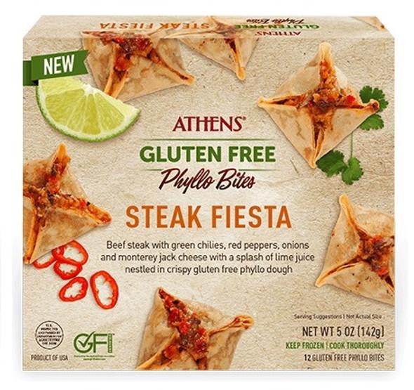Steak Fiesta Gluten Free Phyllo Bites 12pcs Athens (5oz)