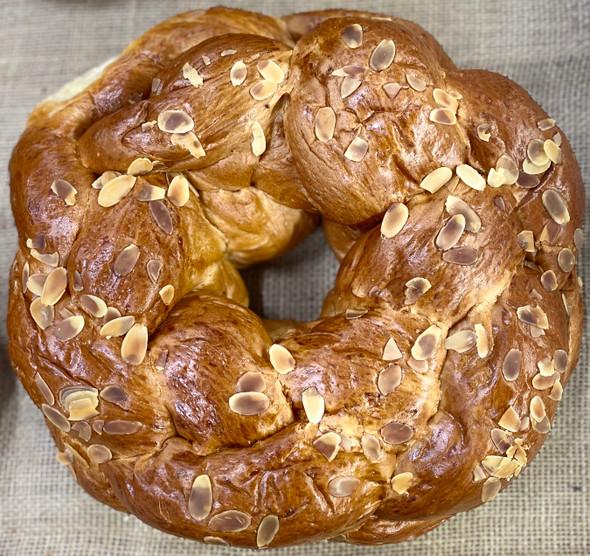 Tsoureki Round Loaf