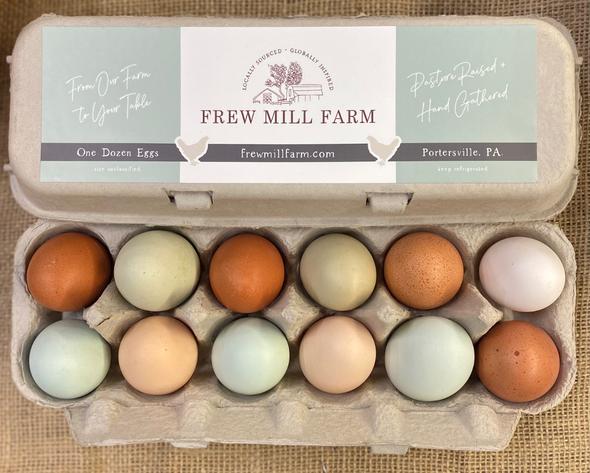 Pasture Raised Eggs Frew Mill Farm