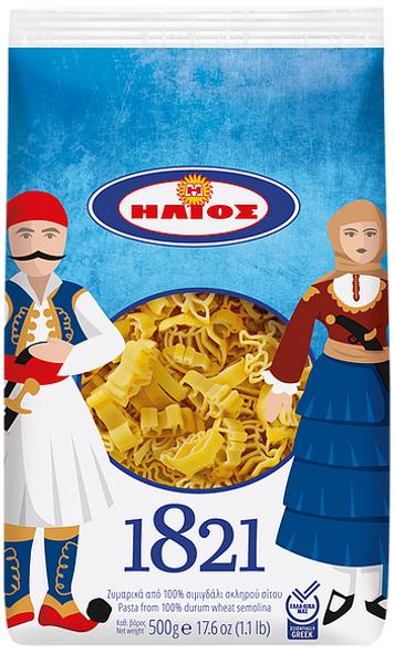 1821 Greek Heroes Pasta Helios