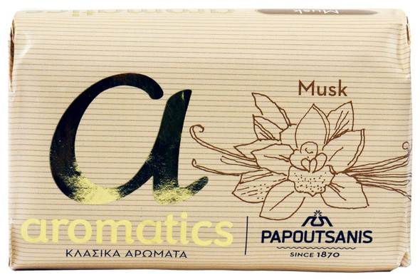 Musk Soap Papoutsanis (125g)