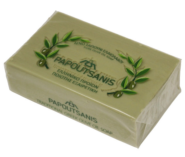 Olive Oil Soap Papoutsanis (125g)