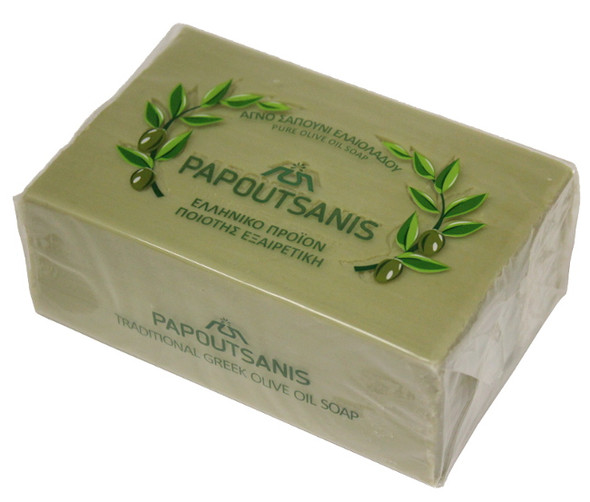 Olive Oil Soap Papoutsanis (250g)