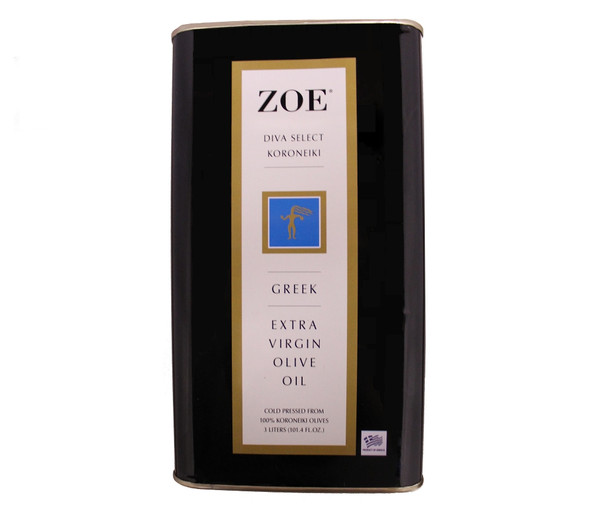 ZOE Diva Select Koroneiki Extra Virgin Olive Oil (3L)
