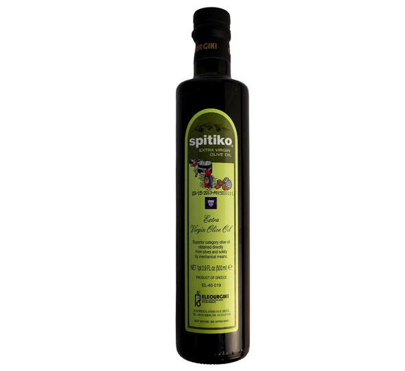 Spitiko Extra Virgin Olive Oil (500ml)