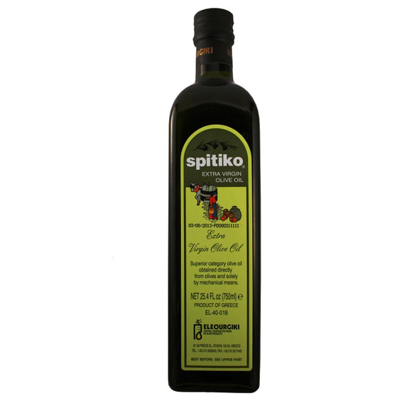 Spitiko Extra Virgin Olive Oil (750ml)