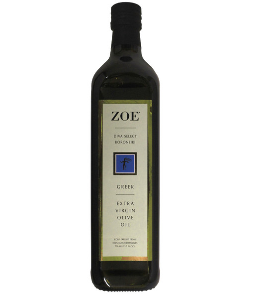 ZOE Diva Select Koroneiki Extra Virgin Olive Oil (750ml)