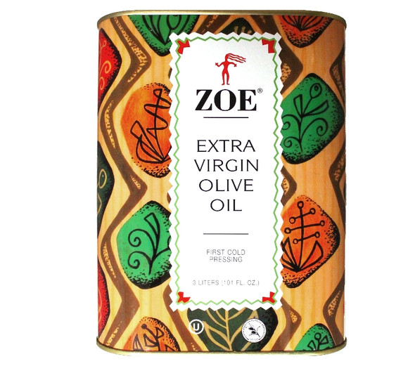 Zoe Extra Virgin Olive Oil (3L)