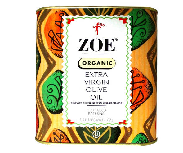 Zoe Organic Extra Virgin Olive Oil (2.5L)