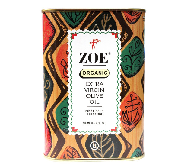 Zoe Organic Extra Virgin Olive Oil (750ml)