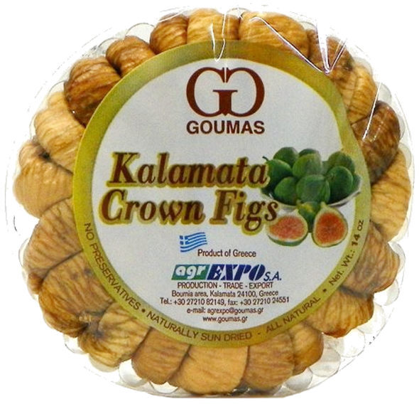 Figs Greek Kalamata Goumas (14oz)