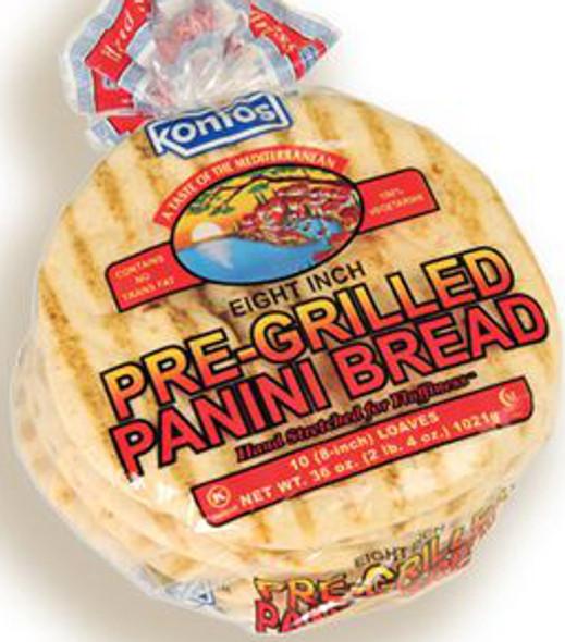 "Panini Bread 8"" Kontos (36oz)"