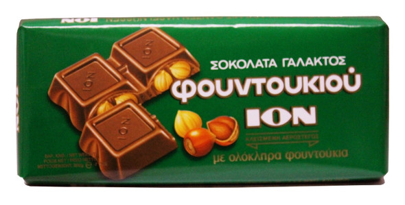 Milk Chocolate Hazelnut ION (200g)