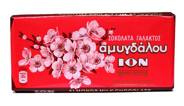 Milk Chocolate Almond ION Box (10x100g)