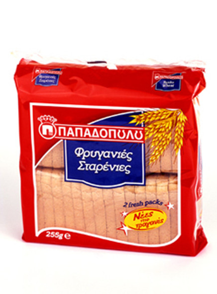 Wheat Toast Papadopoulos (255g)