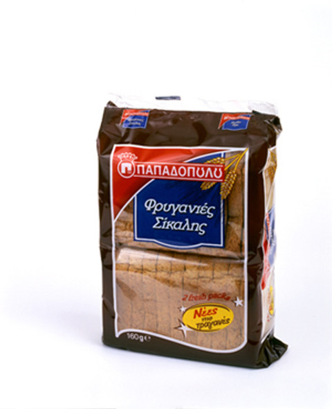 Whole Grain Toast Papadopoulos (160g)