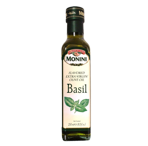 Basil Flavored Extra Virgin Olive Oil (250ml)