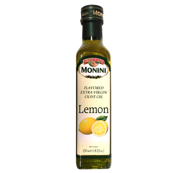 Lemon Flavored Extra Virgin Olive Oil (250ml)