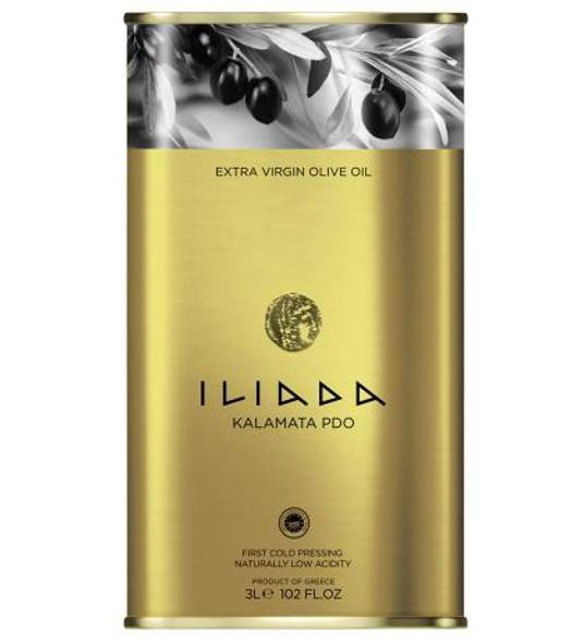 Iliada Kalamata PDO Extra Virgin Olive Oil (3L)