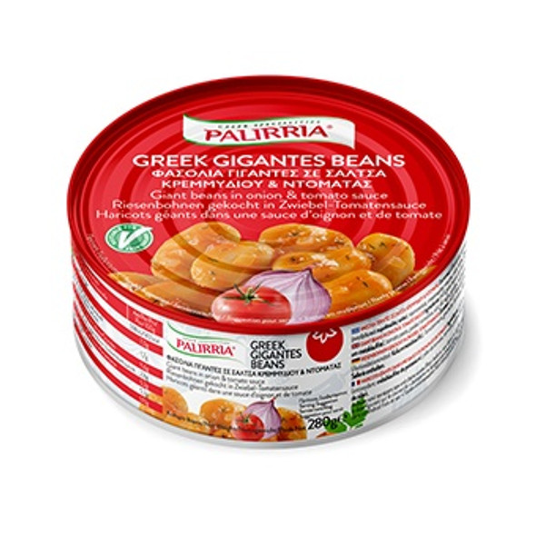 Greek Giant Beans & Legumes in Onion & Tomato Sauce Palirria (9.9oz)