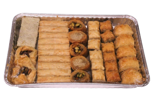 Mediterranean Pastry Assortment 36pcs Kontos (32oz)