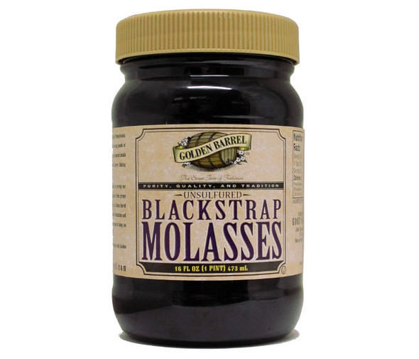 Blackstrap Molasses Golden Barrel (16oz)