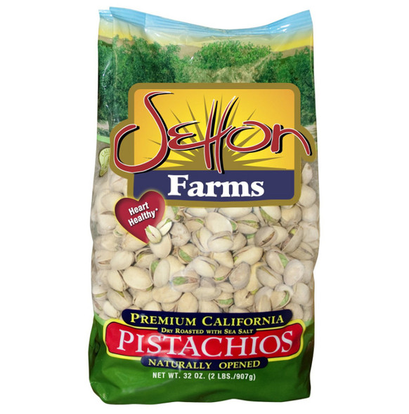Pistachios Roasted & Salted Setton (2lb)