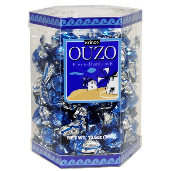 Ouzo Candy Gift Pack Krinos (10.6oz)