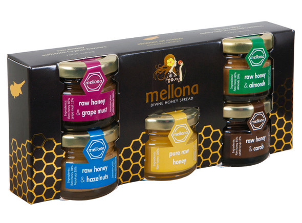 Mellona Raw Honey Gift Collection (5-28g)