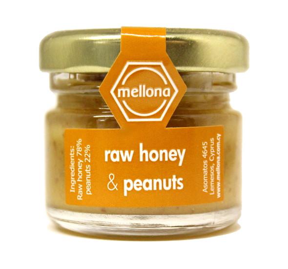 Mellona Raw Peanut Honey (28g)