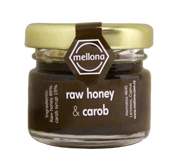 Mellona Raw Carob Honey (28g)