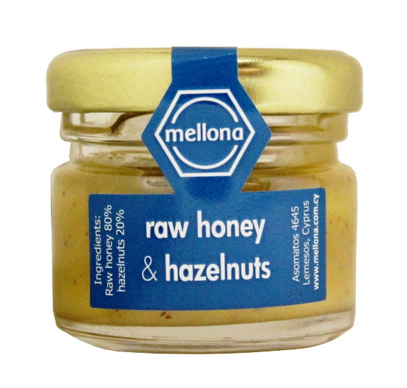 Mellona Raw Hazelnut Honey (28g)