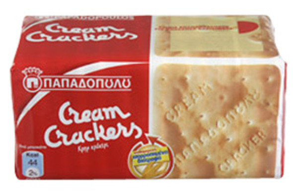 Cream Crackers Papadopoulos (140g)