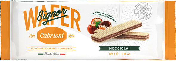 Wafers with Hazelnut Cream (5.29oz)