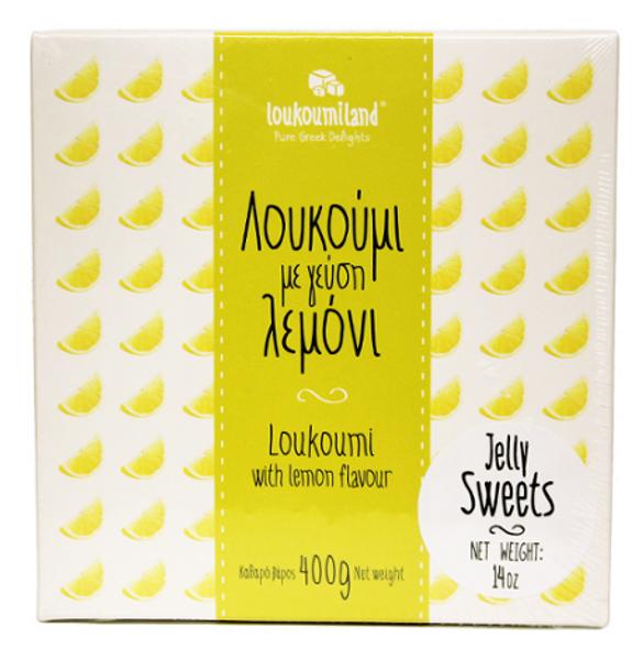 Loukoumi with Lemon Loukoumiland (14oz)