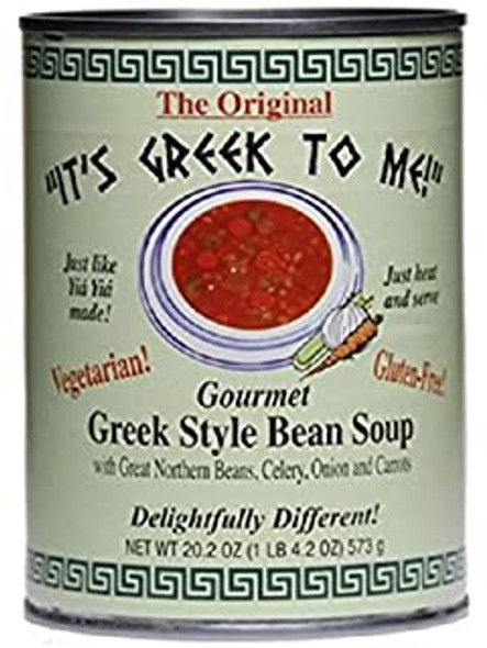 Fasolada Greek Style Bean Soup It's Greek To Me (20.2oz)