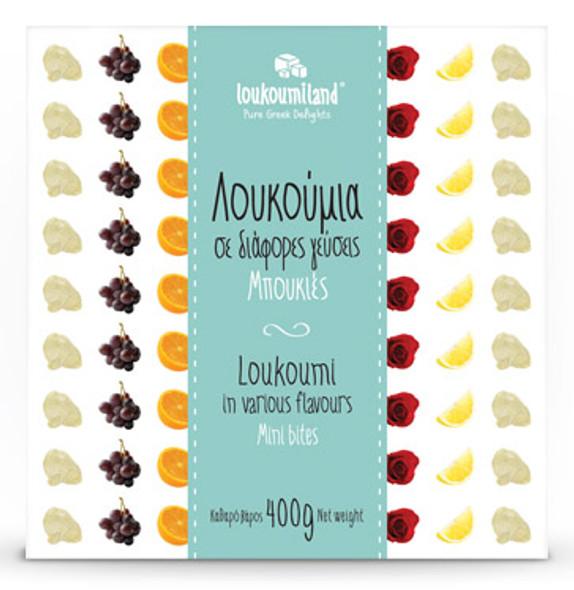 Loukoumi Mixed Flavors Loukoumiland (14oz)
