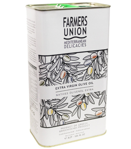 Farmers Union Extra Virgin Olive Oil (3L)