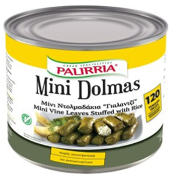 Stuffed Vine Leaves Palirria Minis (2kg)