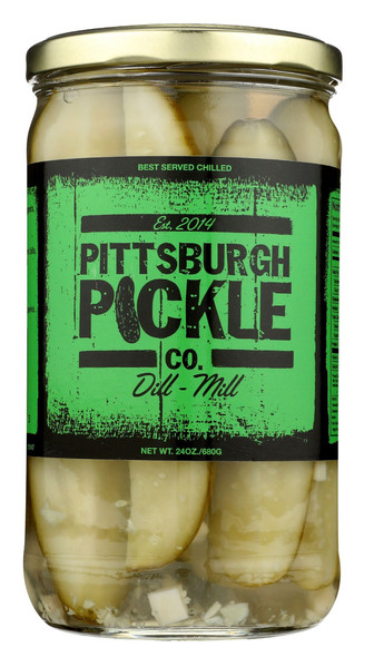 Pittsburgh Pickles Dill - Mill (24oz)