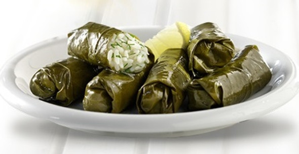 Dolmades Vegetarian Stuffed Grape Leaves (15pcs)