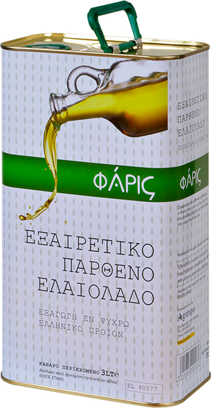 Faris Extra Virgin Olive Oil (3L)