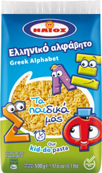 Greek Alphabet Helios (500g)