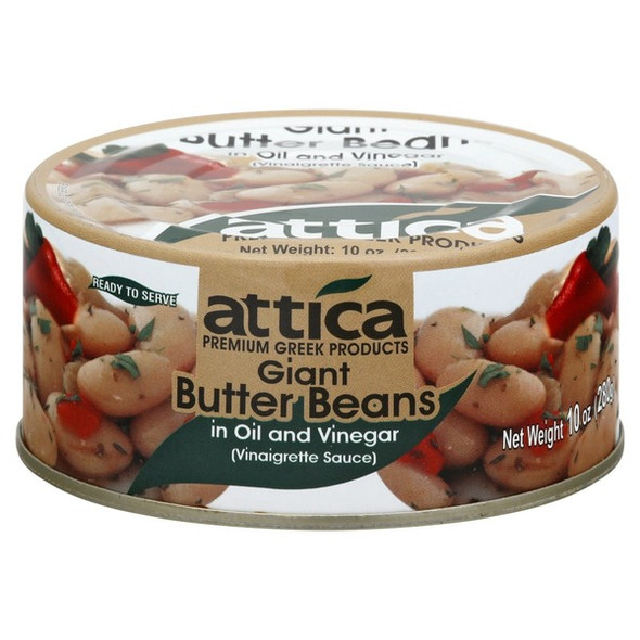 Giant Butter Beans in Oil and Vinegar Attica (10oz)