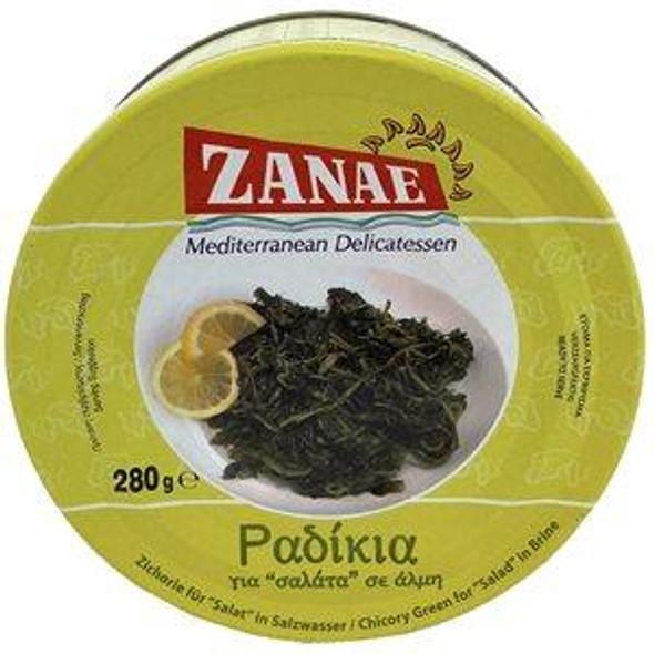 ''Radikia'' Chicory Green in Brine Zanae (10oz)