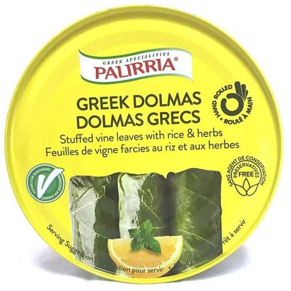 Stuffed Vine Leaves with Rice & Herbs Palirria (9.9oz)