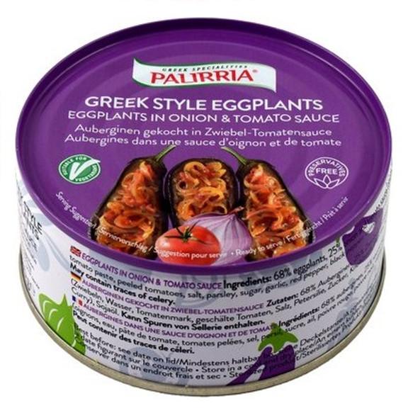 Eggplants in Onion & Tomato Sauce Palirria (10oz)